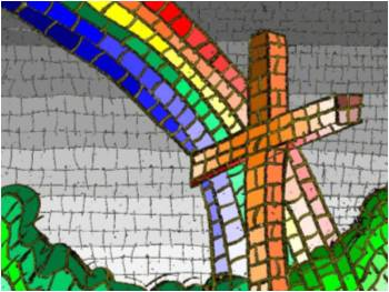 rainbow-cross