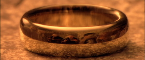 """It is such a small object--but it makes everyone else around it seem smaller. It is outnumbered in their midst--but it looks as if it has trapped them."" - http://shreddedcheddar.blogspot.com/2012/07/jmj-twelve-things-about-lord-of-rings.html"